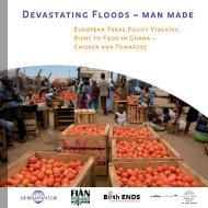Devastating Floods – man made - UK Food Group