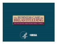 The business case for breastfeeding - WomensHealth.gov