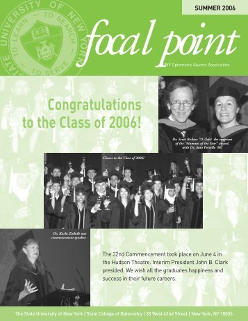FocalPoint 7-06 - SUNY College of Optometry