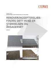 Rapport om vedligeholdelsesefterslæb - Ejendomsviden