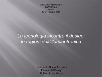 1_La tecnologia incontra il design: le ragioni dell ... - Tecnoimprese