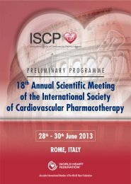 18th Annual Scientific Meeting of the International Society of ... - sicoa