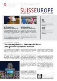 Schweiz  - Europa: Interview mit Lukas Reimann