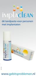 Voordelen Implaclean - Dyna Dental