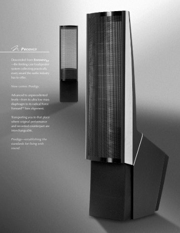 MartinLogan Prodigy Brochure