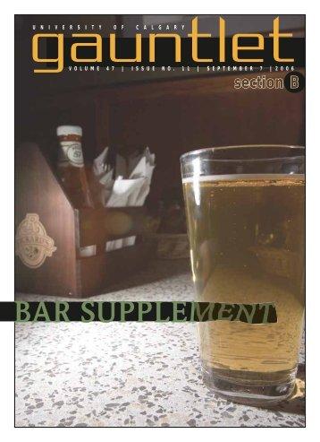 Bar Supplement 2006 - The Gauntlet