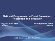 National Plan for floods prevention, protection and mitigation - INBO