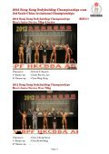 2012 hong kong bodybuilding championships cum 3rd south ... - ABBF - Page 3