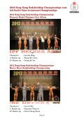 2012 hong kong bodybuilding championships cum 3rd south ... - ABBF - Page 6