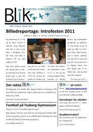 Billedreportage: Introfesten 2011 - Faaborg Gymnasium