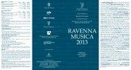 Programma in PDF - Associazione Musicale Angelo Mariani