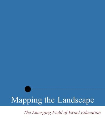 Mapping the Landscape - The iCenter