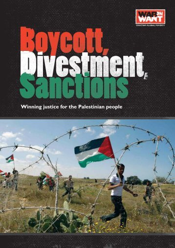 Boycott, Divestment, Sanctions.pdf - War on Want