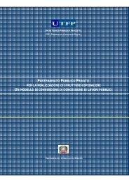 Modello di convenzione per l'edilizia ospedaliera - UTFP