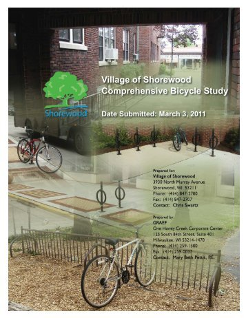 Village of Shorewood Comprehensive Bicycle Study