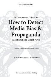 How to Detect Media Bias & Propaganda - The Critical Thinking ...