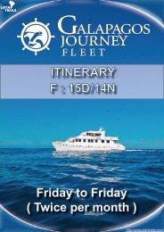 ITINERARY F : 15D/14N - Latin Trails