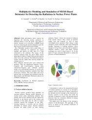 Multiphysics Model Bolometer for Detecting the ... - COMSOL.com