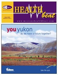 March 2003 - McCrone Healthbeat