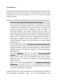 Die Bezirksgemeinschaft Eisacktal arbeitet an der Vervollständigung ...