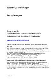 Aktuelle Behandlungsempfehlungen des Experten-Netzwerk ...