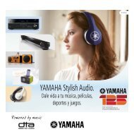 Soluciones Yamaha