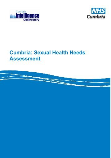 Cumbria Sexual Health Needs Assessment 2009