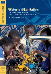 Water and Sanitation in European Union Development Co-Operation