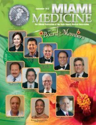 miami medicine - Dade County Medical Association