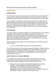 Issues Paper - Law Reform Commission of Western Australia