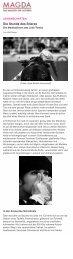 Corrida: Magda - Das Magazin der Autoren - Wolf Reiser