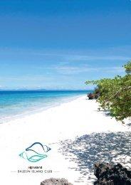 Balesin Island Club Brochure - Alphaland Corporate