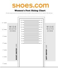 Child Foot and Shoe Sizes - SARTI - Search and Rescue Tracking