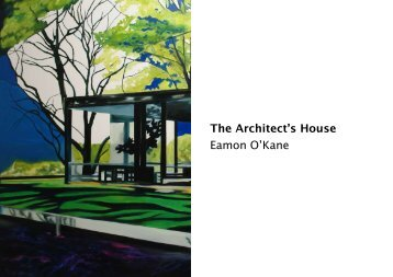 The Architect's House PDF file - Eamon O'Kane