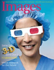 Vision research for the future - Bascom Palmer Eye Institute