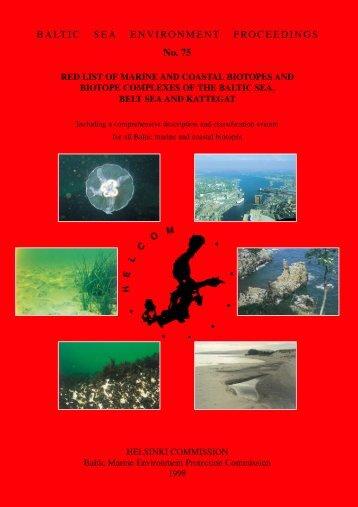 BALTIC SEA ENVIRONMENT PROCEEDINGS No. 75 - Helcom
