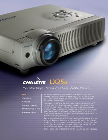 LX25a - The Projector Place