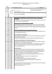 Niederschrift über die GR-Sitzung Aura a.d. Saale vom 24.05.2012 ...