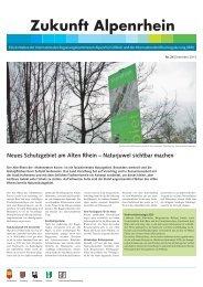 Ausgabe Nr. 24 - Dezember 2013 - Zukunft Alpenrhein
