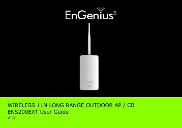 ENS200EXT User Manual - EnGenius Networks Singapore Pte Ltd