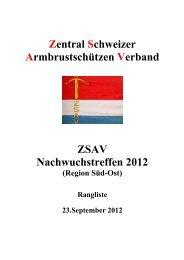 Sued - Ost - Zentralschweizer Armbrustschützen Verband