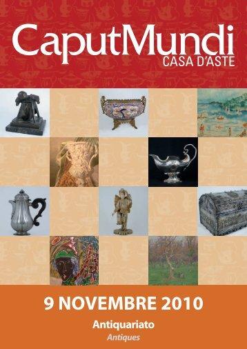 9 NOVEMBRE 2010 - CaputMundi