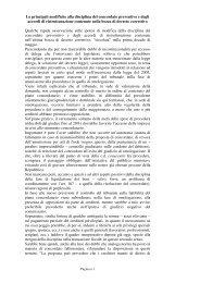 Le principali modifiche alla disciplina del concordato preventivo e ...