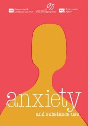 1 • anxiety and substance use - Western Health and Social Care Trust