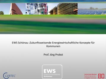 EWS Schönau :Zukunftsweisende Energiewirtschaftliche Konzepte ...