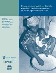 Etude de mortalite en Guinee: Enquete sur les causes de ... - basics