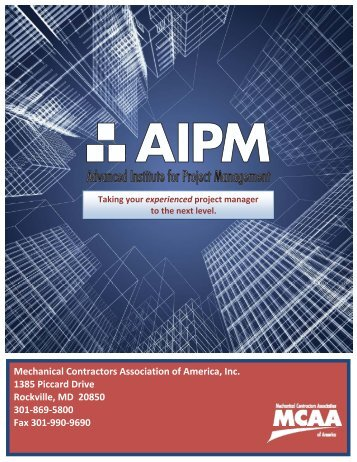 Download Here - the Mechanical Contractors Association of America!