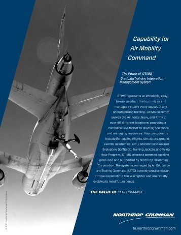 Capability for Air Mobility Command - Northrop Grumman Corporation
