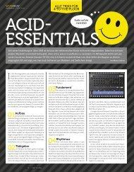 Acid Essentials - marco scherer