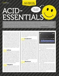 Acid Essentials - marco scherer